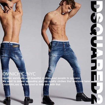 D SQUARED2 Tapered Pants Street Style Skinny Jeans