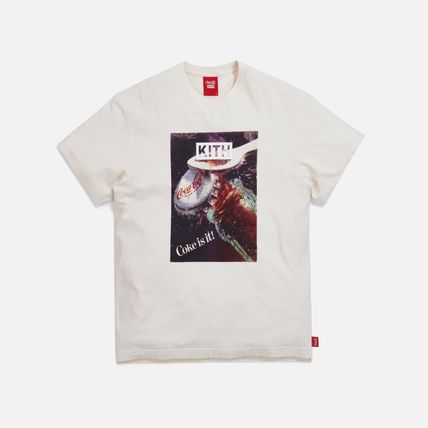 KITH NYC More T-Shirts Unisex Street Style Collaboration Cotton Short Sleeves 2