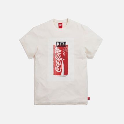 KITH NYC More T-Shirts Unisex Street Style Collaboration Cotton Short Sleeves 4