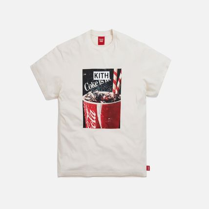 KITH NYC More T-Shirts Unisex Street Style Collaboration Cotton Short Sleeves 5