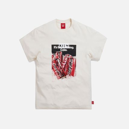 KITH NYC More T-Shirts Unisex Street Style Collaboration Cotton Short Sleeves 7