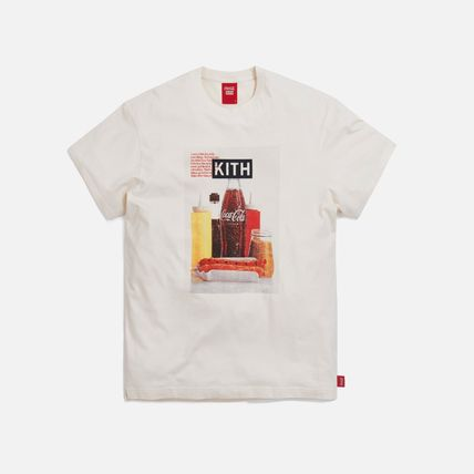 KITH NYC More T-Shirts Unisex Street Style Collaboration Cotton Short Sleeves 8
