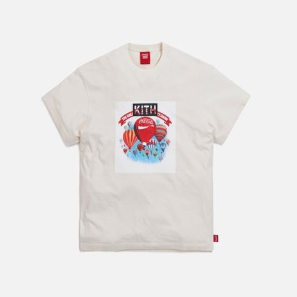 KITH NYC More T-Shirts Unisex Street Style Collaboration Cotton Short Sleeves 9