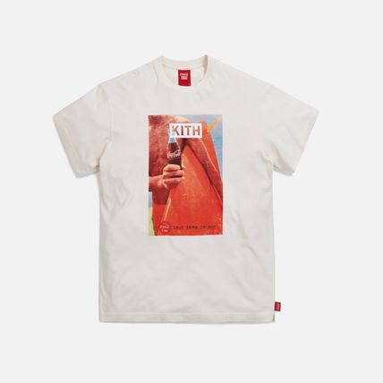 KITH NYC More T-Shirts Unisex Street Style Collaboration Cotton Short Sleeves 11