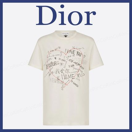 Christian Dior Short Sleeves Logo T-Shirts