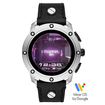 DIESEL Unisex Street Style Oversized Smartwatch Digital Watches