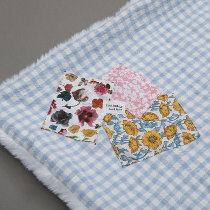 Louis dog Unisex Blended Fabrics Co-ord Blankets & Quilts