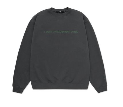 LMC Sweatshirts Unisex Street Style Long Sleeves Cotton Sweatshirts 11