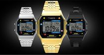 TIMEX Casual Style Unisex Street Style Collaboration Metal Square