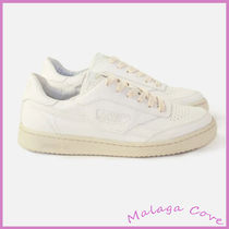 SAYE Casual Style Unisex Plain Logo Low-Top Sneakers