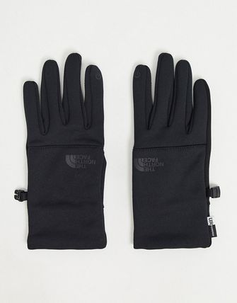 THE NORTH FACE Street Style Plain Co-ord Logo Touchscreen Gloves