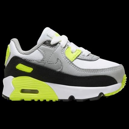 Nike AIR MAX 90 Unisex Blended Fabrics Street Style Baby Girl Shoes