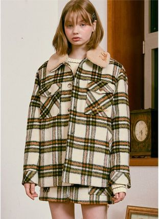 Other Plaid Patterns Casual Style Street Style Medium