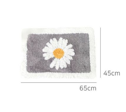 Flower Patterns Bath Mats & Rugs Kitchen Rugs