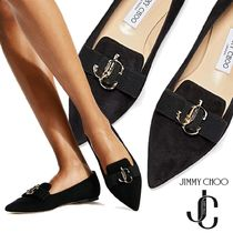 Jimmy Choo Casual Style Plain Party Style Office Style Elegant Style