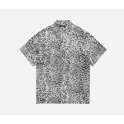 Leopard Patterns Street Style Short Sleeves Shirts