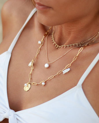 Casual Style Chain Handmade Party Style Elegant Style