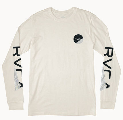 RVCA Long Sleeve Street Style U-Neck Long Sleeves Long Sleeve T-shirt 2