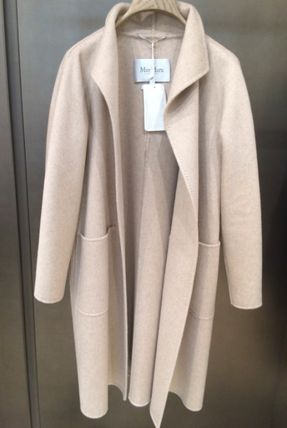 MaxMara LILIA Cashmere Plain Medium Party Style Elegant Style