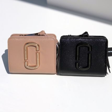 Plain Small Wallet Logo Card Holders