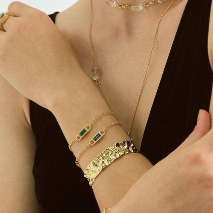 Casual Style Handmade 18K Gold Office Style Elegant Style