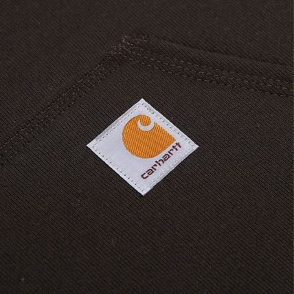 Carhartt Hoodies Unisex Street Style Long Sleeves Plain Cotton Logo Hoodies 14