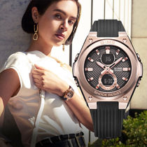 CASIO Casual Style Unisex Blended Fabrics Street Style Silicon