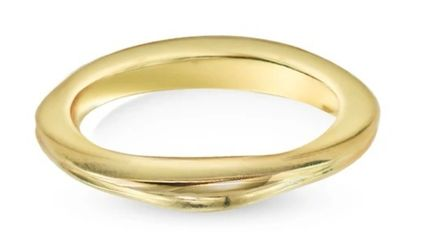 Casual Style 14K Gold Elegant Style Rings