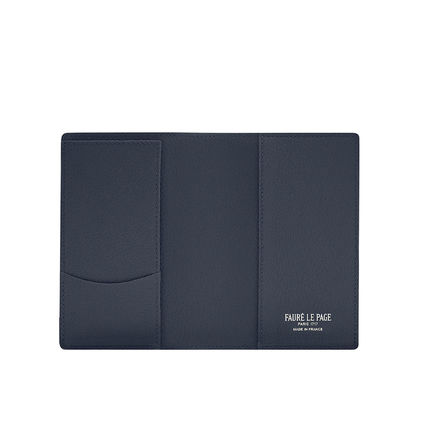 Street Style Folding Wallet Logo Accessories