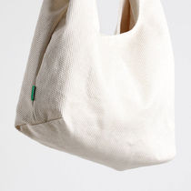 GREEN STUFF Totes Canvas Street Style A4 Plain Oversized Logo Totes 13