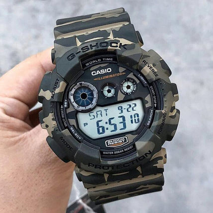 Unisex Quartz Watches Oversized Digital Watches