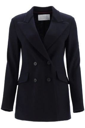 Casual Style Wool Office Style Jackets