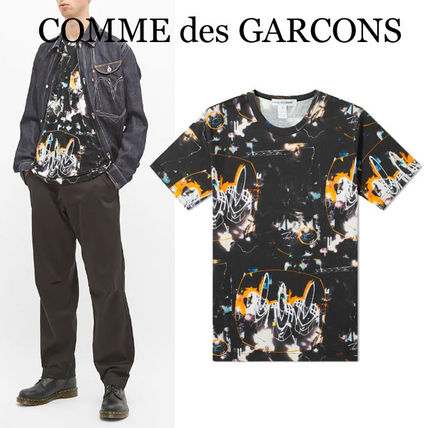 COMME des GARCONS More T-Shirts Street Style Collaboration Short Sleeves Logo Designers