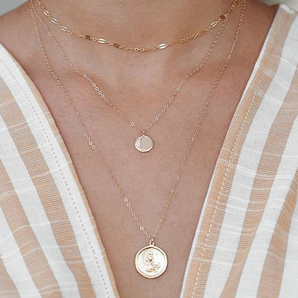 Casual Style Handmade Party Style 14K Gold