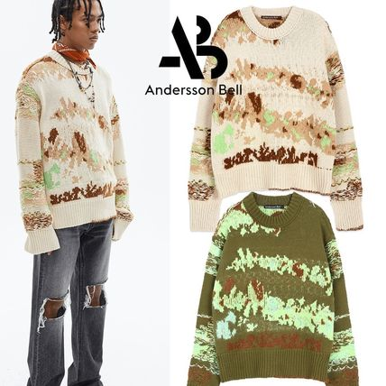 ANDERSSON BELL Sweaters Street Style Long Sleeves Sweaters