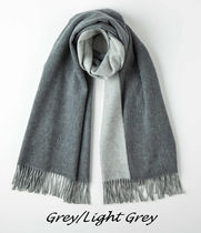 Johnstons Cashmere Knit & Fur Scarves