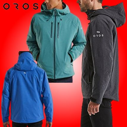 Short Nylon Plain Windbreaker Nylon Jacket  Jackets