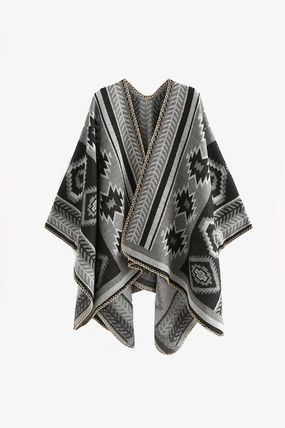 Oversized Ponchos & Capes