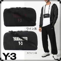 Y-3 Street Style Plain Card Holder Logo Wallets & Card Holders