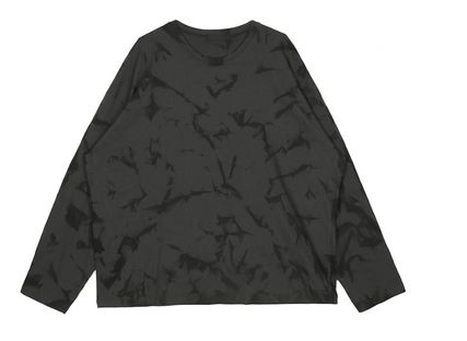 Street Style Collaboration Long Sleeves Cotton Oversized