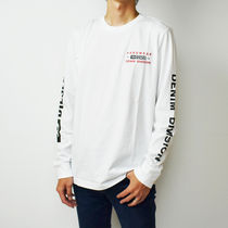 DIESEL Crew Neck Unisex Street Style Long Sleeves
