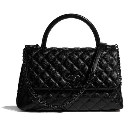 CHANEL MATELASSE Flap Bag With Top Handle