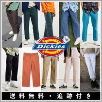 Dickies Tapered Pants Street Style Plain Cotton Khaki Dark Brown