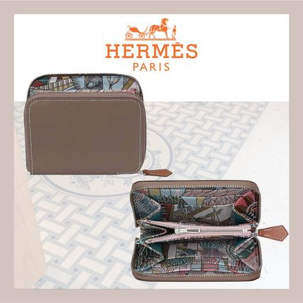 HERMES Silk In Flower Patterns Tropical Patterns Plain