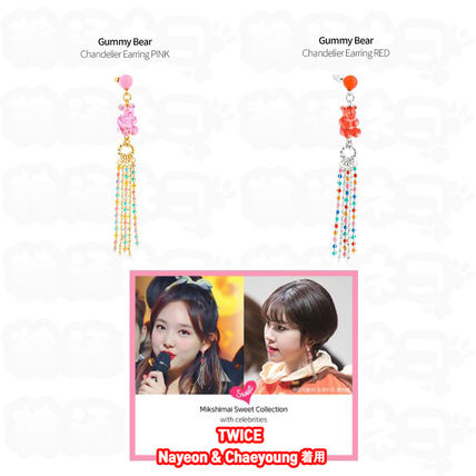 TWICE★MIKSHIMAI★GUMMY BEAR CHANDELIER EARRINGS