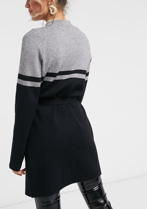 Stripes Casual Style Long Sleeves Plain Long Office Style