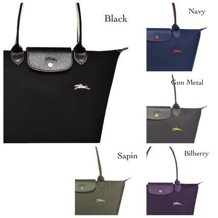 Longchamp LE PLIAGE NYLON Nylon Plain Boston & Duffles