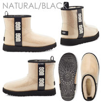 UGG Australia Round Toe Casual Style Plain Ankle & Booties Boots