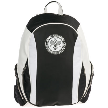 Nylon Plain PVC Clothing Logo Backpacks