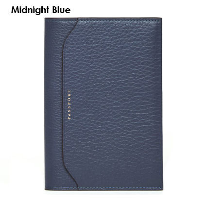 Plain Leather Small Wallet Card Holders